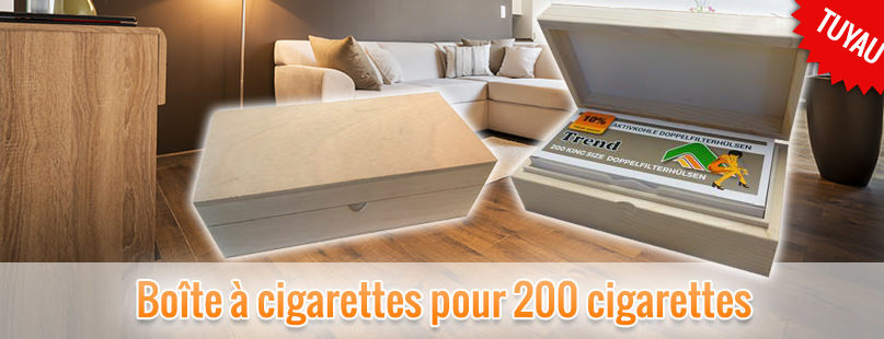 Boîte à cigarettes