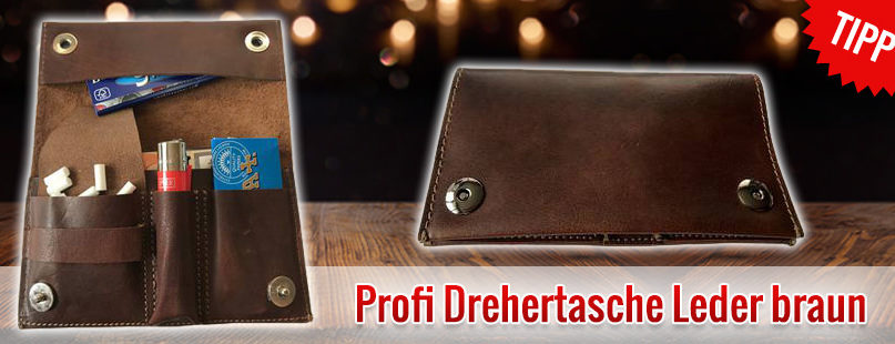 Profi Drehertasche Leder braun