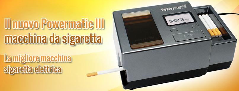 Powermatic 3 macchina da sigaretta