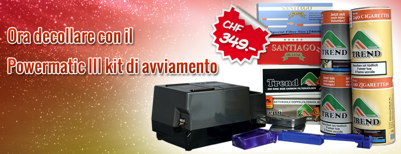 Powermatic 3 kit di avviamento
