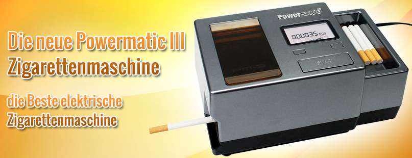 Powermatic 3 Zigarettenmaschine