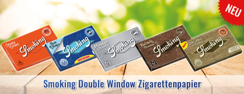 Smoking Double Window Zigarettenpapier