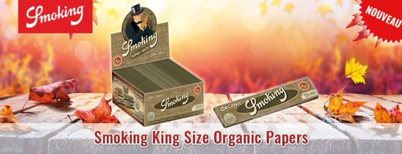 Smoking King Size Organic Papers