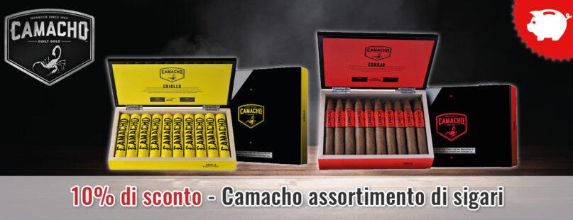 10% di sconto - Camacho assortimento di sigari