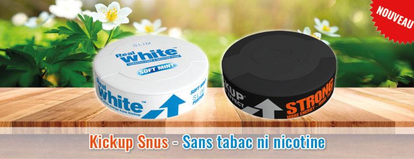 Kickup Snus - Sans tabac ni nicotine