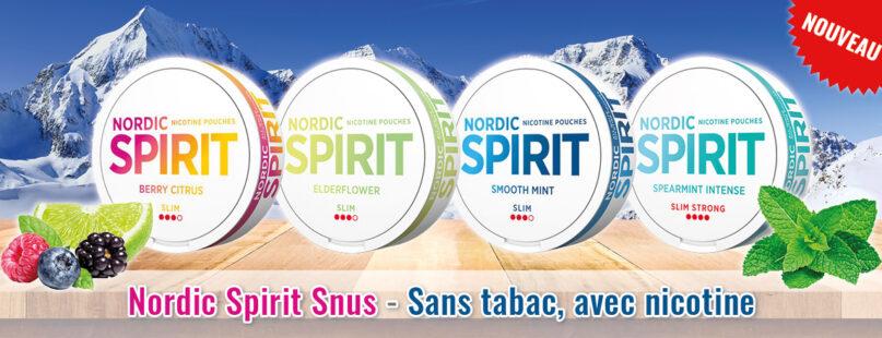 Nordic Spirit Snus - Sans tabac, avec nicotine