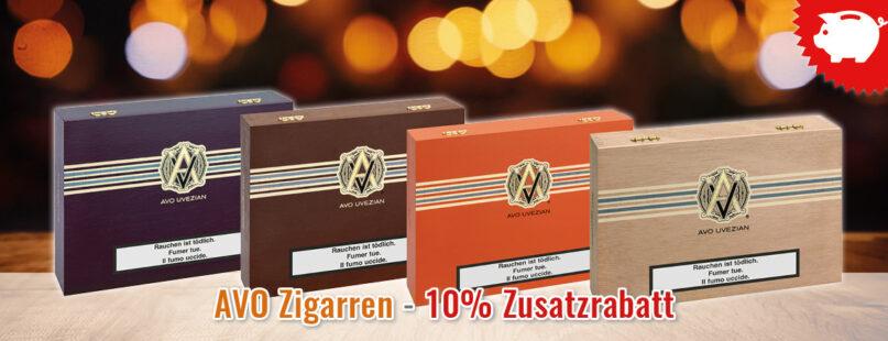 AVO Zigarren - 10% Zusatzrabatt
