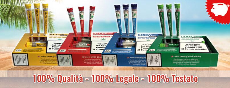 100% Qualità - 100% Legale - 100% Testato