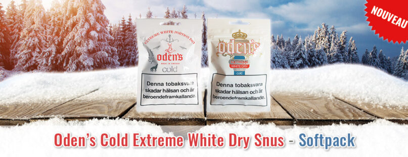 Oden's Cold Extreme White Dry Snus - Softpack