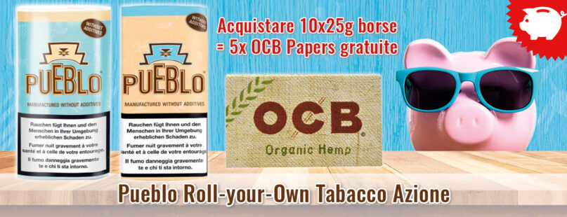 Pueblo Roll-your-Own Tabacco Azione