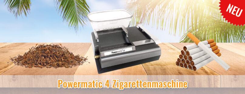 Powermatic 4 Zigarettenmaschine