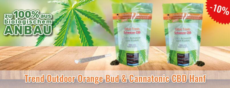 Trend Outdoor Orange Bud & Cannatonic CBD Hanf