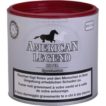 American Legend Silver Tabak, Dose