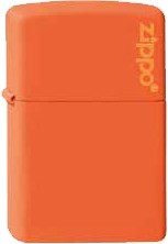 Zippo Orange Logo 60001268