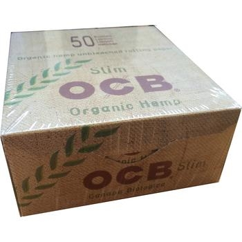 OCB King Size Organic Hemp Slim Box