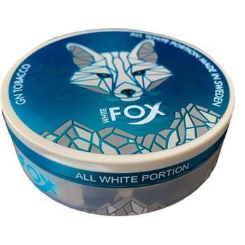 White Fox Slim All White Portion