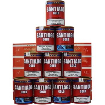 Santiago Gold & Santiago Filterhülsen