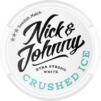 Nick and Johnny Crushed Ice White Snus