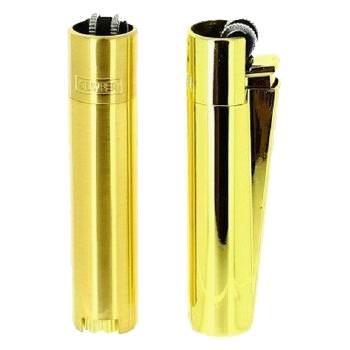Clipper Feuerzeug gold aus Metall