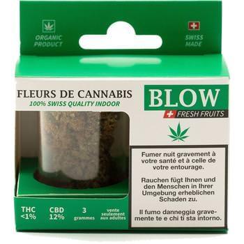 Cannabis-Blüten Grün