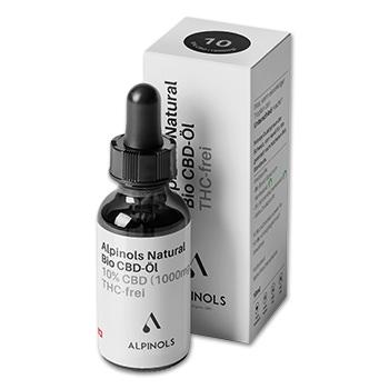 Alpinols CBD Öl - Ohne THC