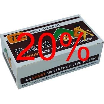 Aktion Trend Short 78mm Filterhülsen