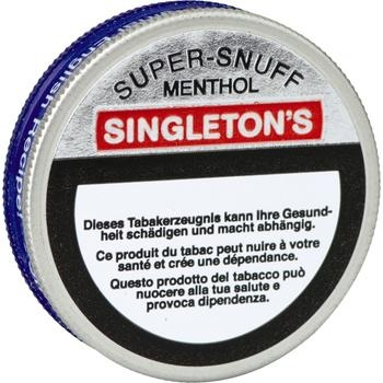 Singleton's Menthol Snupersnuff