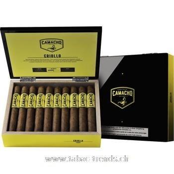 Camacho Criollo Toro 20 Zigarren Kiste