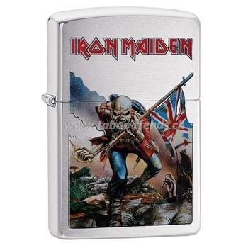 Zippo Iron Maiden Flag