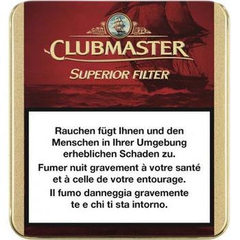 Clubmaster Superior Filter Red Zigarillos - 5 x 20 Stk.