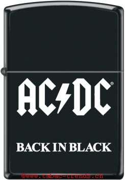Zippo 60004730 Ac-Dc Back In Black