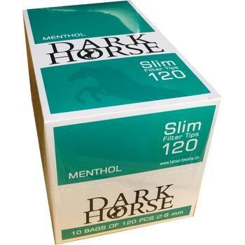 Menthol ZIgarettenfilter Darkhorse Box