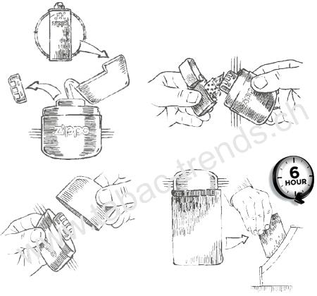 Zippo Handwarmer Chrom