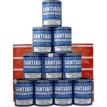 Santiago American Blend & Filterhülsen Santiago