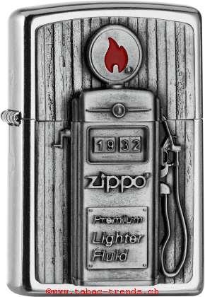 Zippo 2006474 PlaketteTankstelle