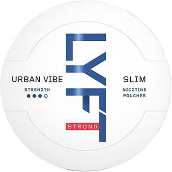 Lyft Urban Vibe Slim All White Snus