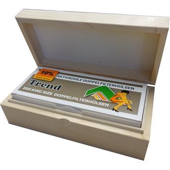 Zigaretten Box aus Holz für 200 Zigis