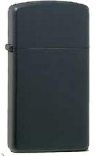 Zippo Black Matt Slim 60001176