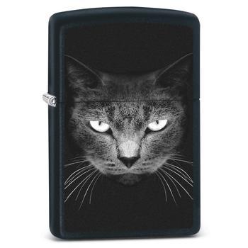Zippo Black Cat Face 60002473