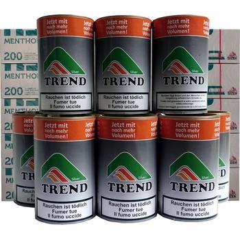 Tabak Trend Silver & Gizeh Menthol-Filterhülsen