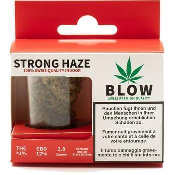 Cannabis-Blüten Rot