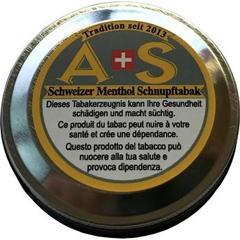 A+S Schweizer Menthol Schnupftabak