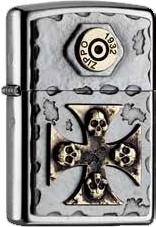 Zippo Skull Cross 2004746