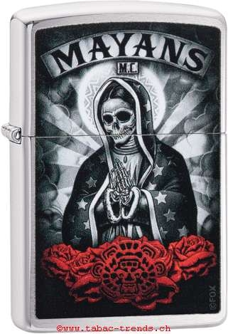 Zippo 60004893 Mayans-Skull
