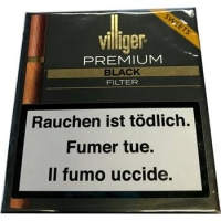 Villiger Premium Black Filter 5 x 20 Cigarillos