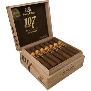 La Aurora 107 Nicaragua Robusto - 20 Zigarren