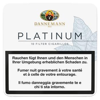 Dannemann Platinum Cigarillos - 5 Schachteln
