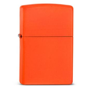 Zippo Reg Neon Orange 60000477