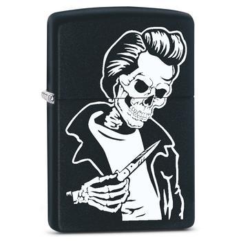 Zippo Rockabilly Skull 60002620