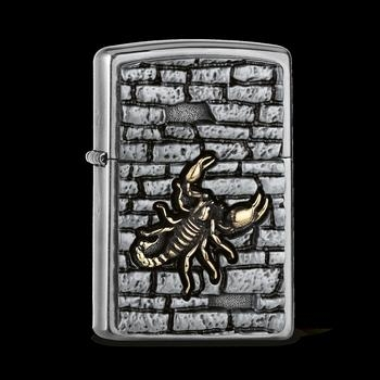 Zippo Scorpion On The Wall Embl 2005358